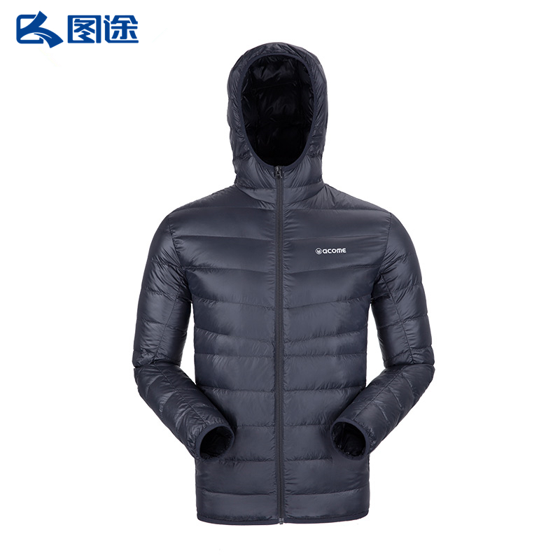 Tu Tu Aimu couple down jacket men's lightweight hooded warm jacket female autumn and winter AG162D1015