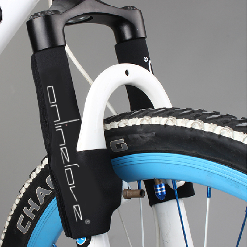 Bicycle front fork set mountain bike front fork protection cover frame maintenance set dust jacket riding equipment bicycle accessories