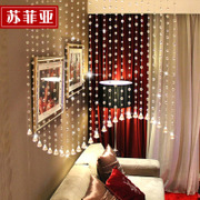 Sophie finished the bathroom curtain curtain partition Yazhu crystal curtain entrance curtain curtain line new bedroom living room