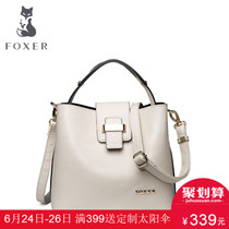 Jin Huli Joker casual fashion cowhide bag