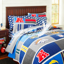 PBKids new us NFL National Football League new year theme quilt bed cover blanket