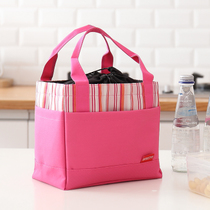 Canvas Tote lunch box bag round insulation with dinner package with lunch bag large hands lunch & liutao_3456 from the best taobao agent yoycart.com Aboutintivar.Com