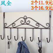 Creative door rack hook seamless powerfulsticking hook hanger bathroom wall nail free clothes hanger hook