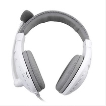 Acoustic Whisper (SALAR) A566 head-mounted computer headset stereo wire-controlled headset double plug white