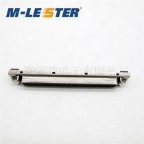Menglei SCSI 100pin180 degree straight plate DB type motherboard welded plate connector