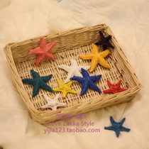 Mediterranean Home Decorative resin small starfish simulation starfish wall sticker decoration aquarium fish tank Decorations