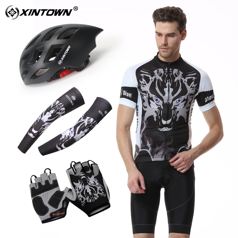 XINTOWN Short-sleeved Cycling Suit