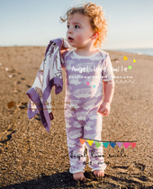 Big Siamese trousers baby dress with short sleeves of the United States June 22 update