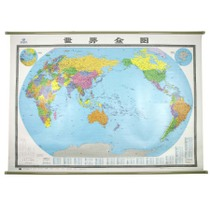 New version of the World map Wall chart 2 meters x1.5 high-definition waterproof coated super large wall chart business Office Wall Chart home decorative Wall Map Study Wall chart study wallchart