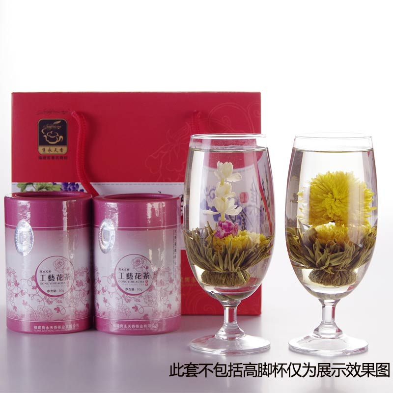 Craft flower tea ball ornamental tea blooming tea chrysanthemum tea year delivery gift tea high-grade specialty food tea