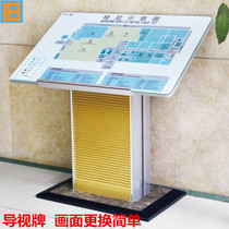 Floor vertical guide signs signs floor guide signs section signs general flat display index Table Guide signs