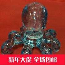 Octopus Mini Massager Slimming acupoint Meridian therapy Instrument head waist Neck Massage Mini Equipment