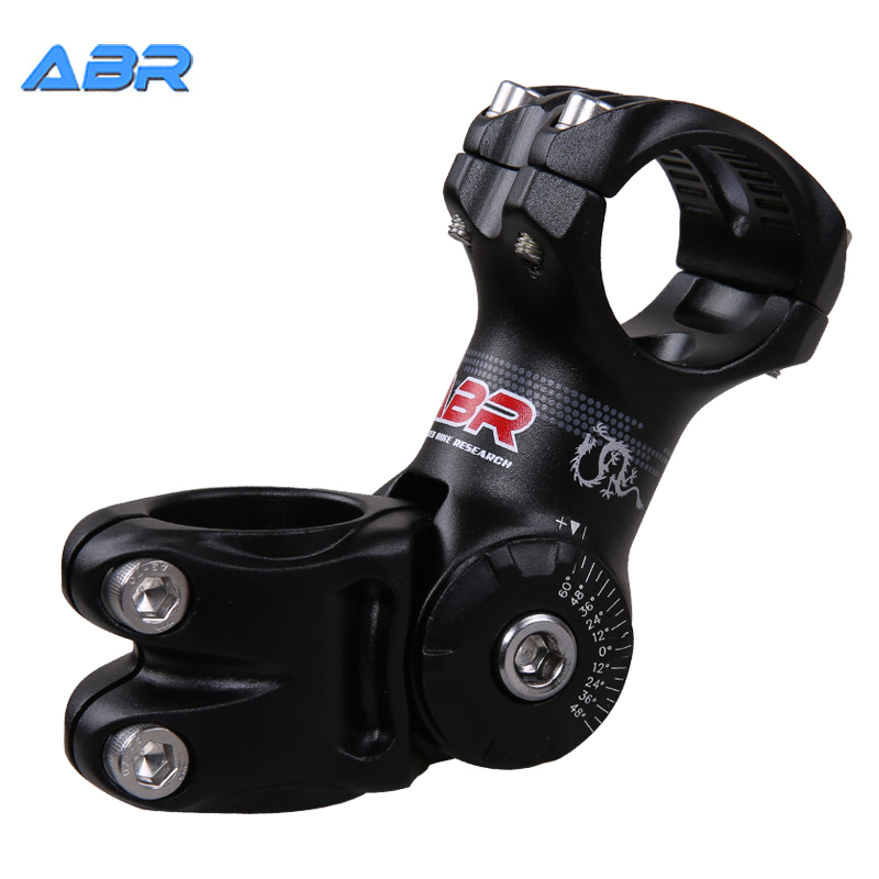 ABR bicycle adjustable handle aluminum alloy riser mountain bike equipment accessories 25.4/31.8× 90MM