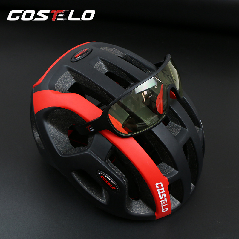 Casello road bike helmet men and women mountain bike bicycle hat riding helmet one molding female