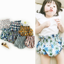 2017 new child trends in infant explosions high waist floral pp comfortable cool summer shorts