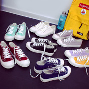 In the spring of 2017 new white shoes female Korean ulzzang shoes cloth shoes all-match student Harajuku