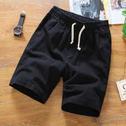 2 pieces of Summer Shorts Pants five tide men loose pants 5 Korean summer leisure pants beach pants