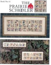 Cross stitch drawings redraw source file-Pat garden Alphabet