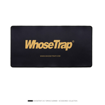 (Whosetrap official) Tidal lengthening thickening eight shares edge locking large mouse pad