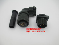 Suitable for FANUC Fanaco motor power plug MS3108A18-10S aviation plug military regulation connector