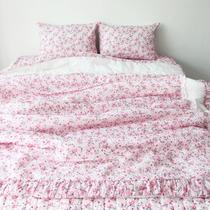 Подлинная Корея купить летом новый корейский стиль кровать набор 4-х частей антипригарным тела прохладный пузырь вуаль 1 5 м 4-х частей набор