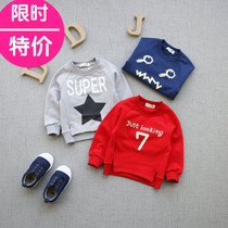 Long sleeve infant baby sweater shirts for boys spring coat jacket pullover new style cotton 0123