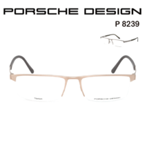 cf8b13aa05f9 National Bank PORSCHE DESIGN Porsche P 8239 half-frame titanium male  optical frames