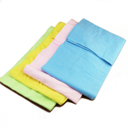 Buckskin towel absorbent pet dog trumpet strong absorbent pet cat bath towel random color
