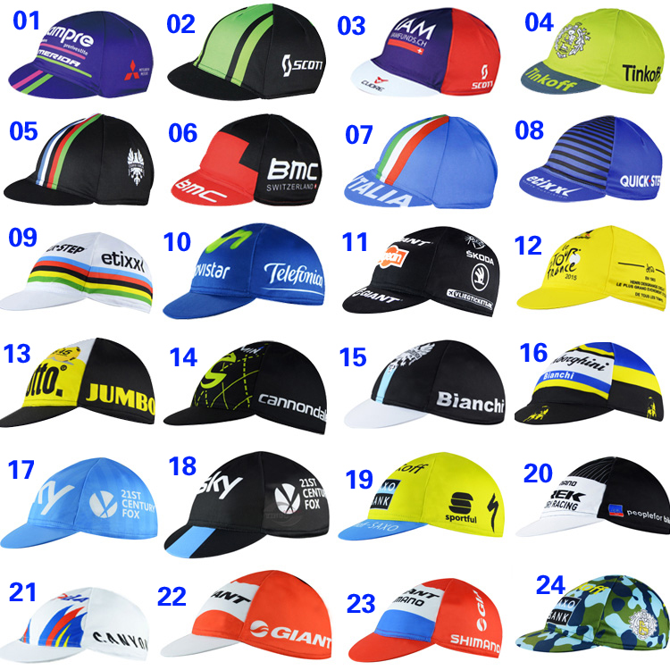 Customization of bicycle windproof and dust-proof hats for small cloth hats motorcade Edition