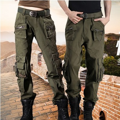 Freedom Knight Trousers Men's Special Forces Climbing Trousers Outdoor Overalls Trousers Camouflage Multi Pocket Straight Trousers