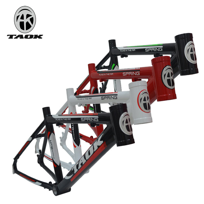 TAOK Tuoke Mountain Bike Frame 20-inch Bicycle Disc Brake Special Frame Aluminum Alloy Seamless Tube Triangle Frame