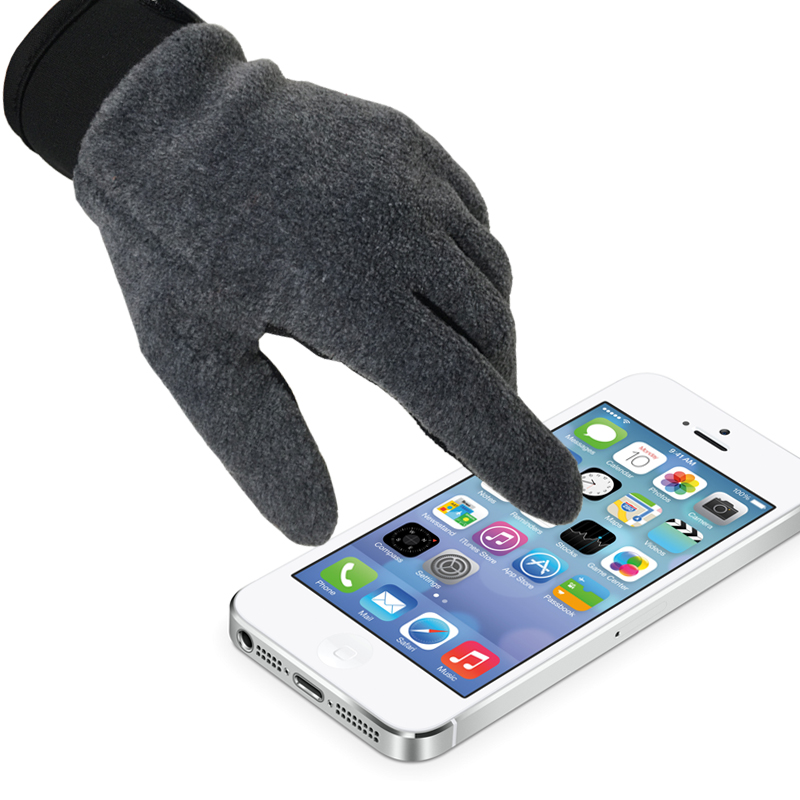 Outdoor gloves all finger touch screen spring and autumn mountaineering, driving, fishing, skid-proof men and women catching down