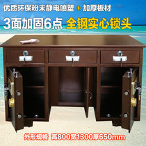 All Steel safety Table Safe Desk Home cashier Table coin mechanical Electronic Password Finance table