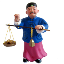 Mudman Zhang Abacus A dozen gold million open creative ornaments gifts business gifts to send customers colleagues