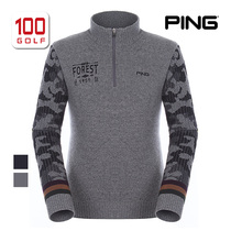 aa784131d43 PING Golf Mens Fall Winter warm men s sweater golf clothing knit sweater  11164sn127
