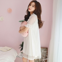 Cotton Lady sexy lace cute sweet princess nightgown