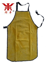 Welding Feng 60*90cm high-quality two-story leather a whole piece of leather welding welding Apron no stitching welder protection