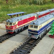 Fengfa Dongfeng супер длинное моделирование электрический трек паровой высокоскоростной рельсовый зеленый кожаный маленький поезд модель детские игрушки для мальчиков и девочек