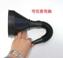 Large refueling with filter funnel and gasoline engine oil plastic funnel car and motorcycle special plastic funnel