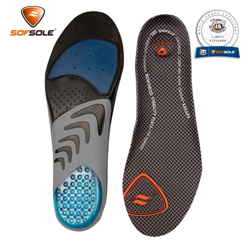 SOFSOLE comfort foot speed men and women models AIRR ORTHOTIC shock absorption sweat exercise running insoles