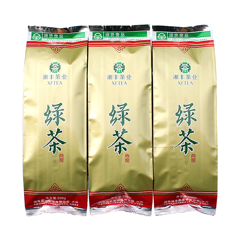 New Tea Xiangfeng Super Green Tea Hunan Xiangfeng Tea 200g
