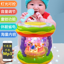 Baby Hand Pat children rechargeable Pat Drum early teach puzzle 1 years 0-6-12 months baby toy 3 Music