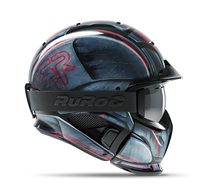 Ruroc RG1-DX Limited amount of Asian mens and womens ski helmets face snow mirror full helmet grimace veneer double board