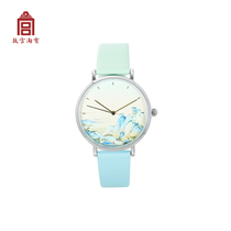 (Forbidden City Taobao) A lifting hand is jiangshan thousands of miles-thousands of miles of Jiangshan map double color strap Watch