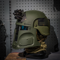 TIER NONE commander) galac-tac FAST US Army Tactical bounty hunter sci-fi helmet mask