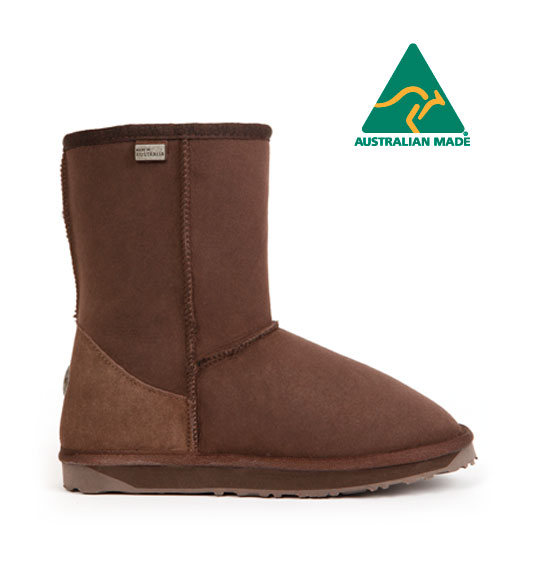 Australian EMU Fur-in-One Snow Boots Stinger Lo [New Zealand Direct Mail]