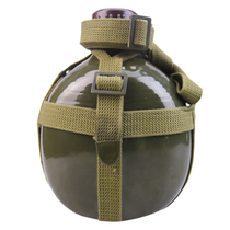 Genuine 87 Type Outdoor Water Bottle Old-fashioned PLA Military Training Thickened Aluminum Portable Water Bottle