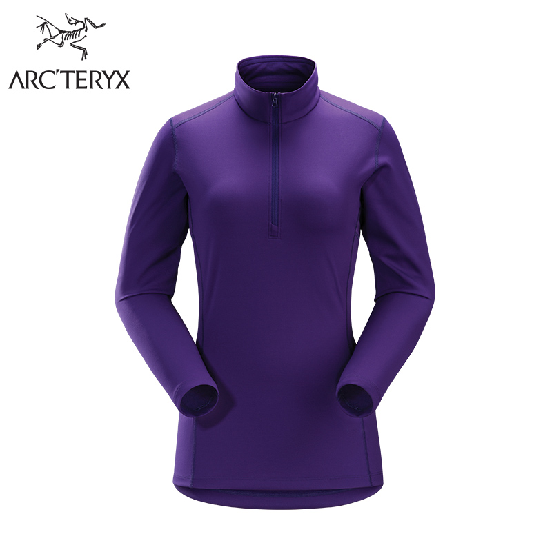 Arcteryx Archaeopteryx Female Semi-zipper Thermal Underwear Phase AR Zip