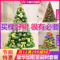Christmas Tree Package 1.5 m 1.8 2.1 2.4 m encrypted decorative gift mini Home Pink Christmas