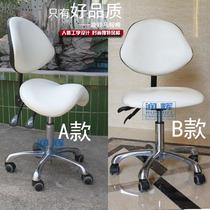 Saddle chair beauty ergonomics computer riding chair bar barber designer office staff chair stool